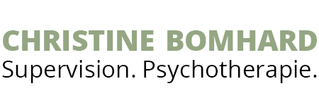 Supervision und Psychotherapie. Christine Bomhard.